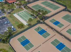 Rec Center - Tennis and Pickle Courts