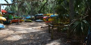 Boat Club Kayak Racks